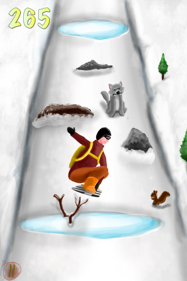 Screenshot A Snowboarding eXtreme Skills Race HD – Full Version